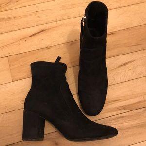 Suede Zara Boots